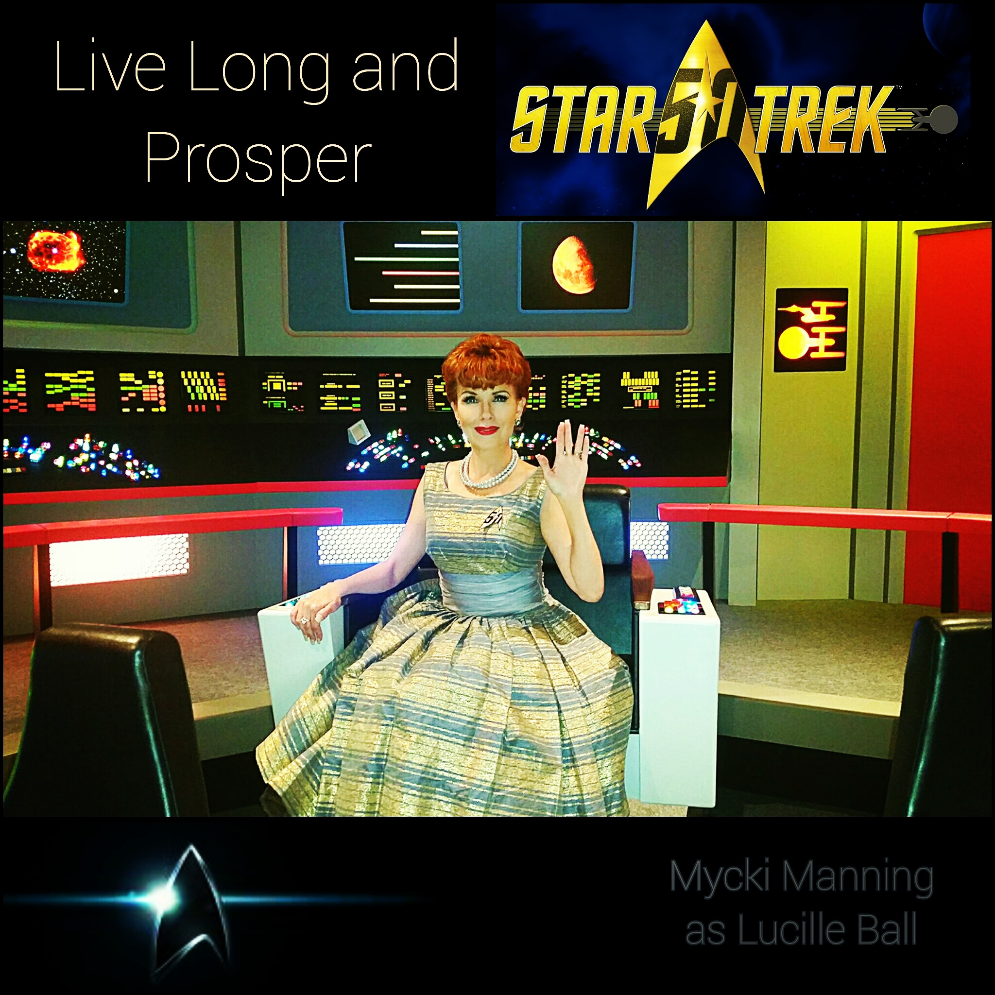 Lucille Ball Star Trek